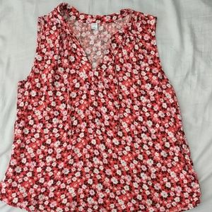 Split Neck tank - Old Navy